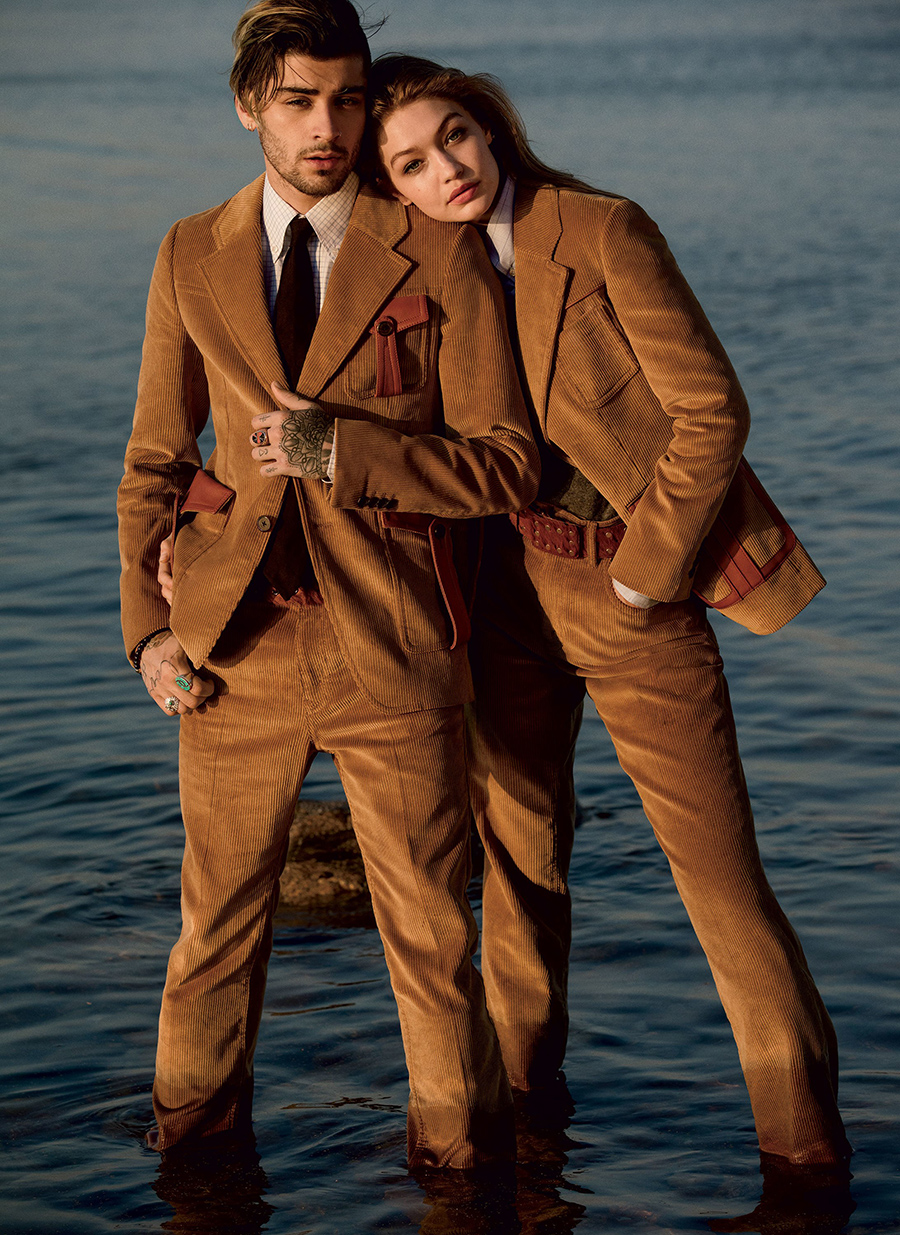 Gigi Hadid and Zayn Malik cover Vogue August 2017