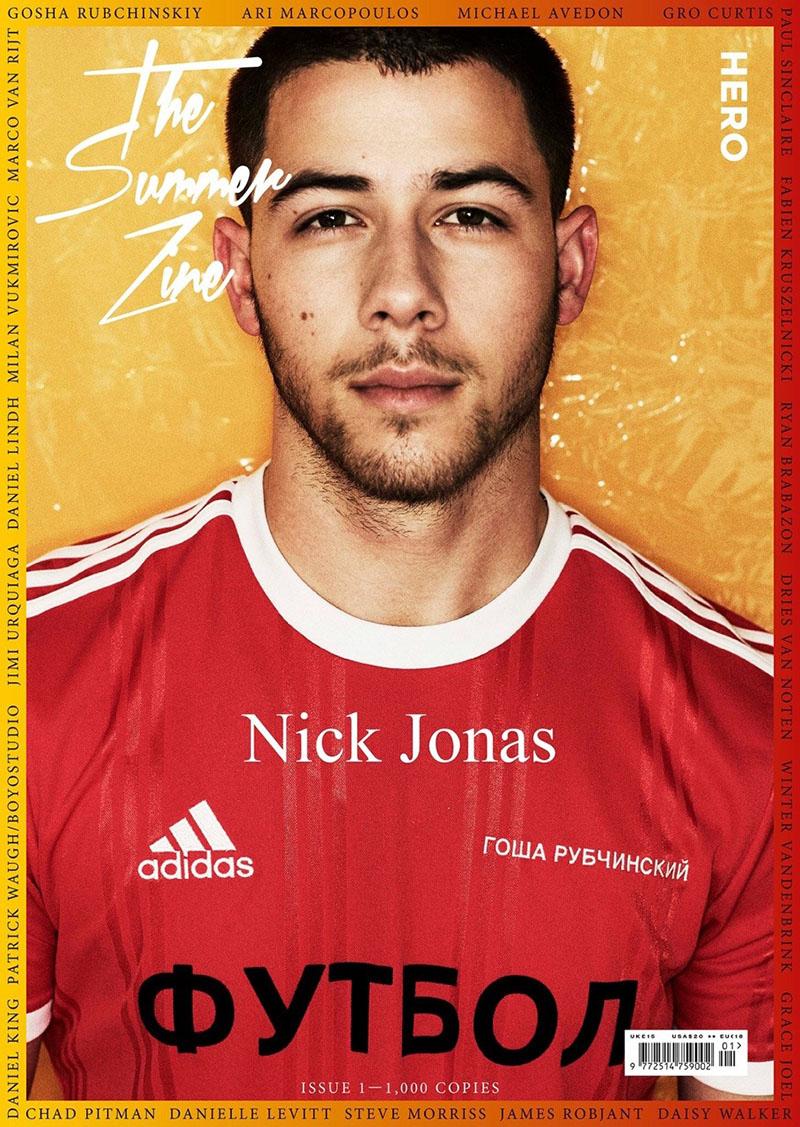 Nick Jonas covers HERO Magazine's Summer Zine