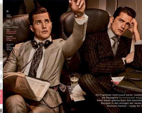 """""""Business Class"""" by Giampaolo Sgura for GQ Germany September 2017"""