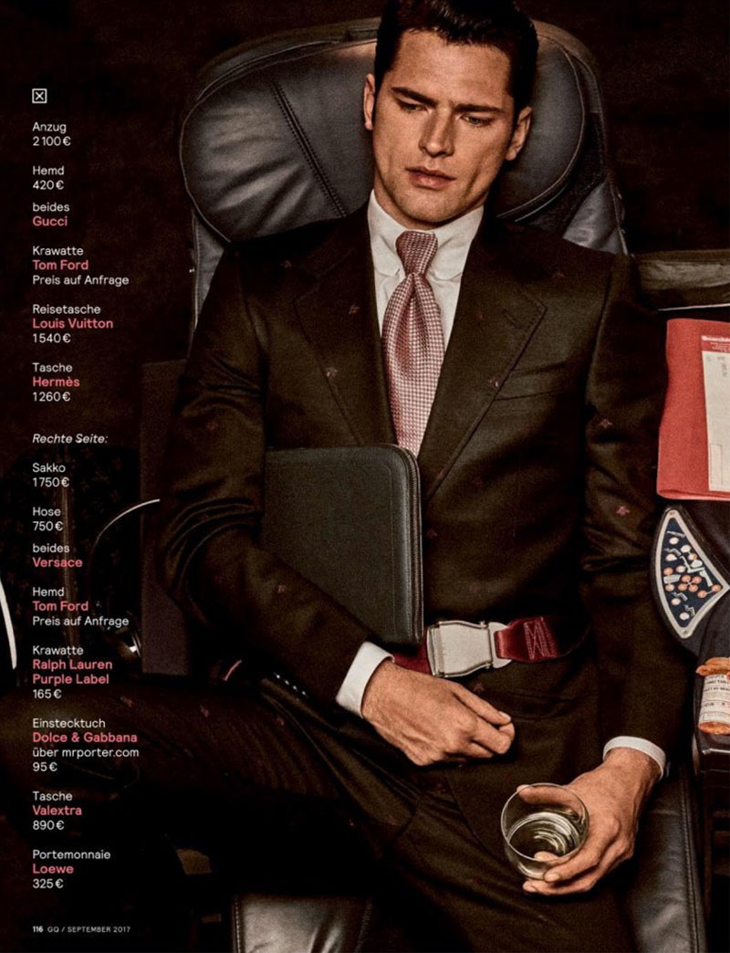 """Business Class"" by Giampaolo Sgura for GQ Germany September 2017"