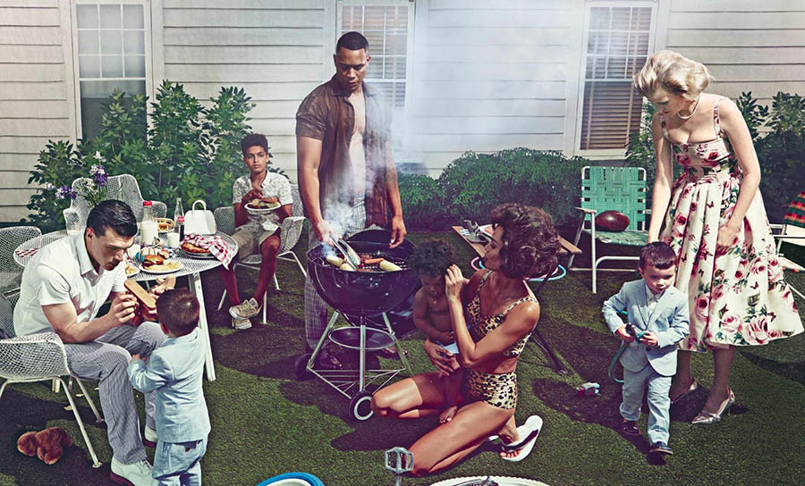 ''American Daydream'' by Steven Klein for Vogue US's 125th Anniversary Issue