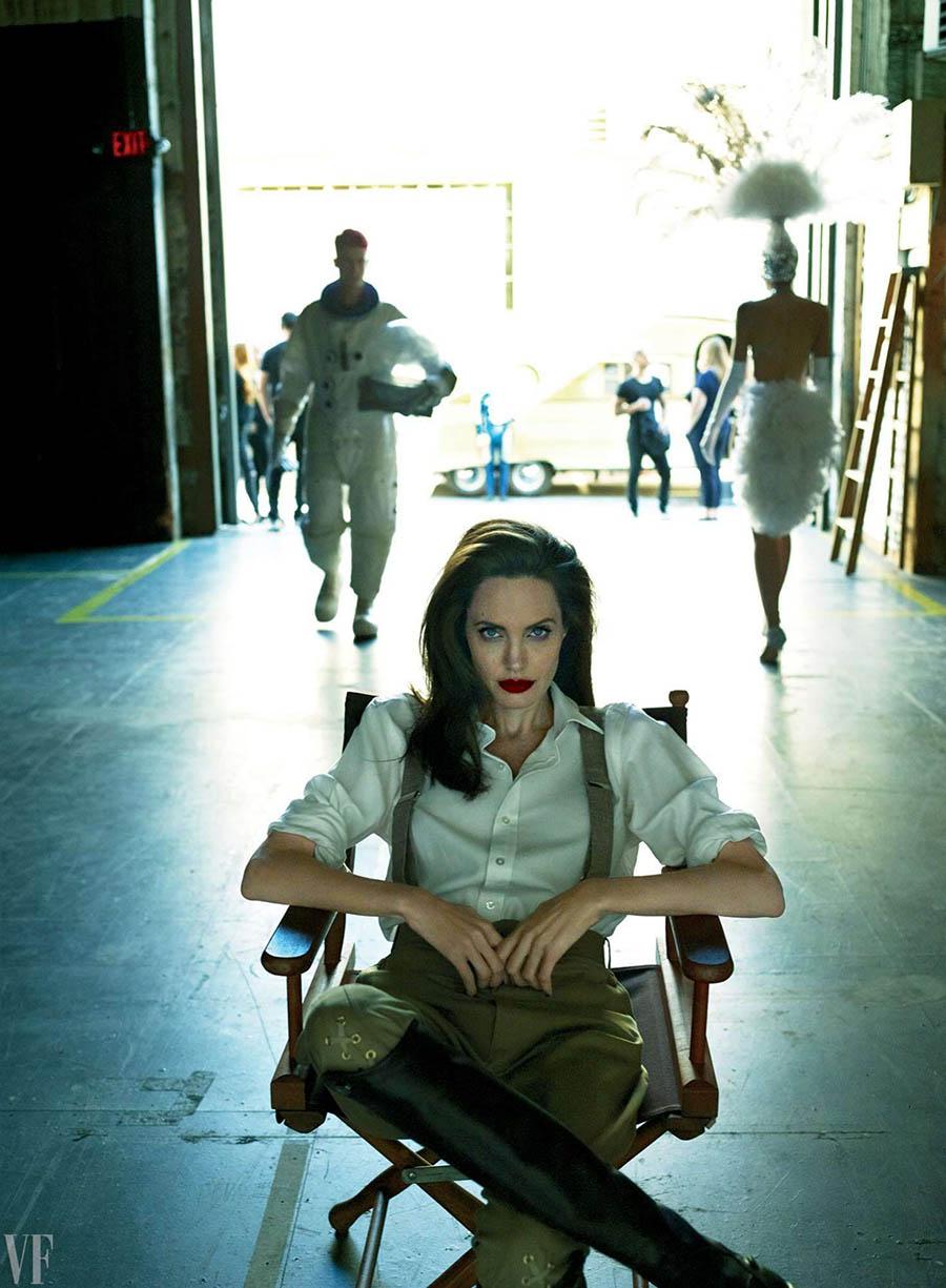 Angelina Jolie covers Vanity Fair September 2017 by Mert & Marcus