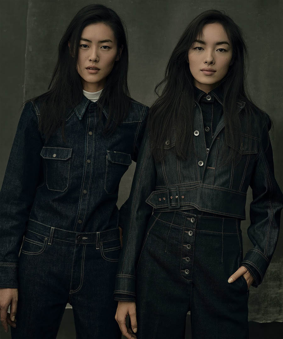 ''Good Jeans'' by Annie Leibovitz for Vogue US's 125th Anniversary Issue