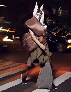 Isabella Emmack by Paola Kudacki for Elle US September 2017