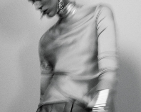 Iselin Steiro by Geraldine Saglio for WSJ Magazine September 2017