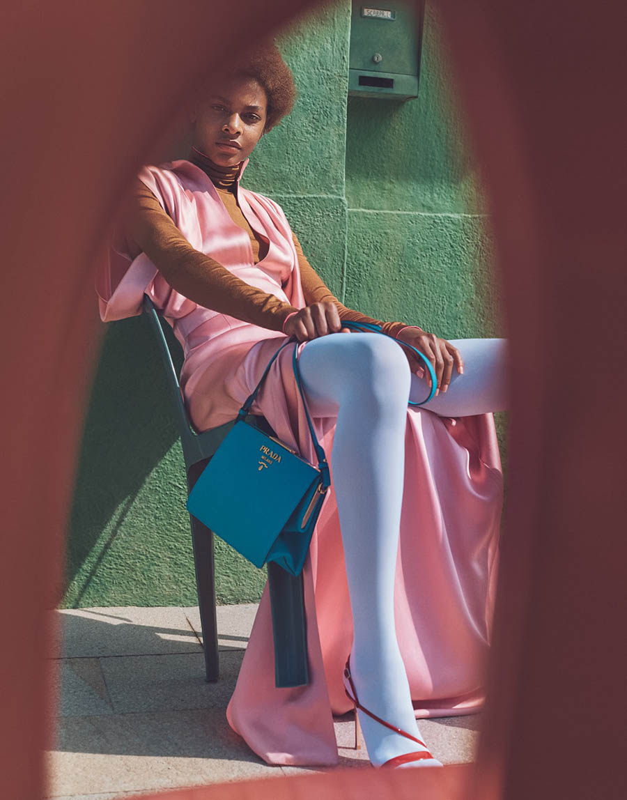 Karly Loyce by Emma Tempest for Porter Magazine Fall 2017