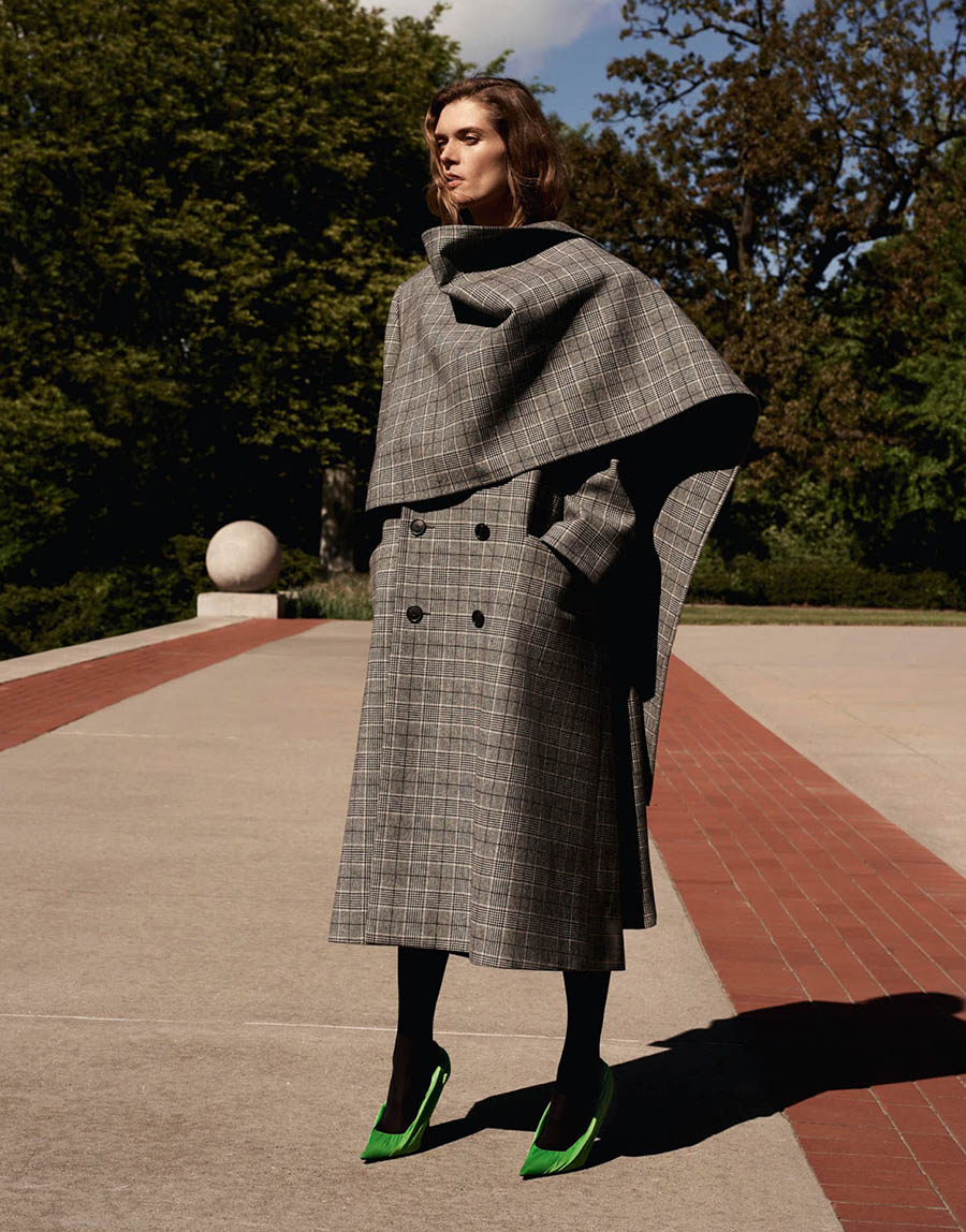 Małgosia Bela by Alexandra Nataf for Porter Magazine Fall 2017
