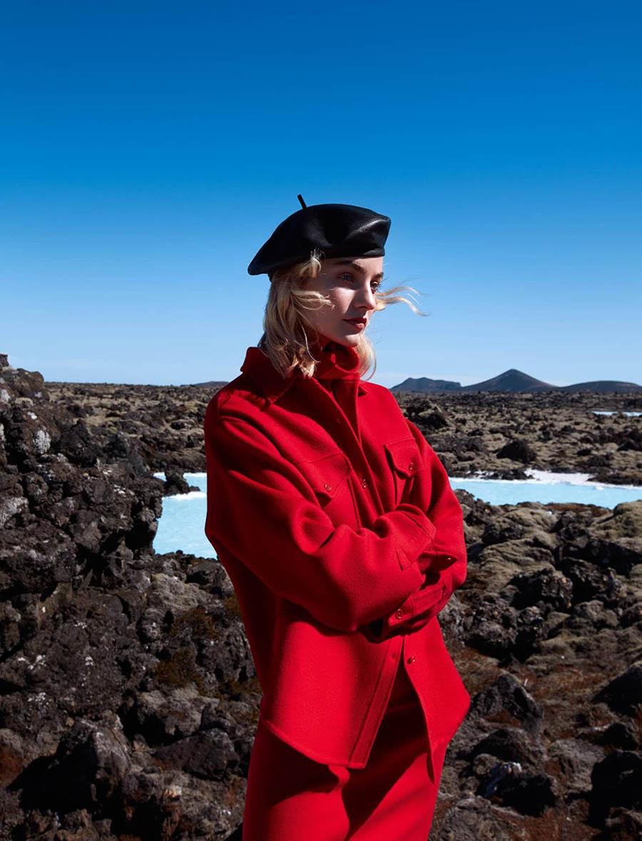 Maartje Verhoef by Camilla Åkrans for Harper's Bazaar US September 2017