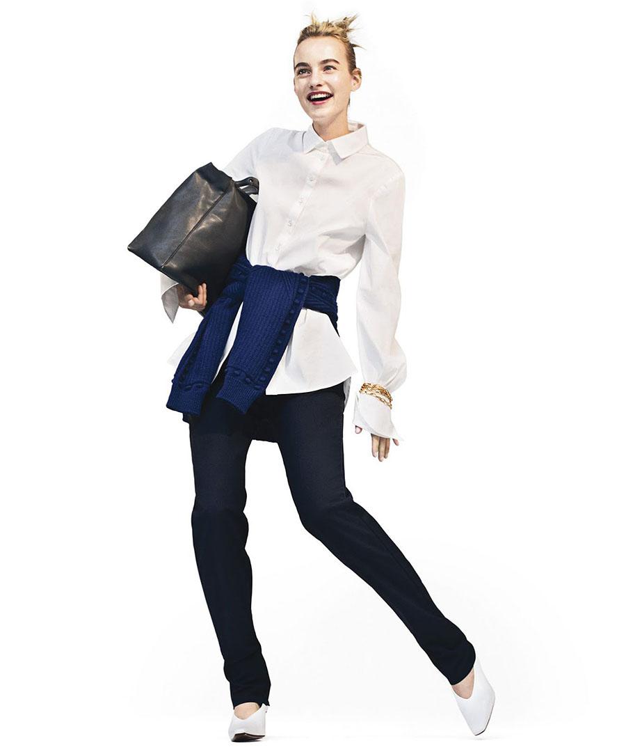 Maartje Verhoef by Sebastian Kim for Harper's Bazaar US August 2017