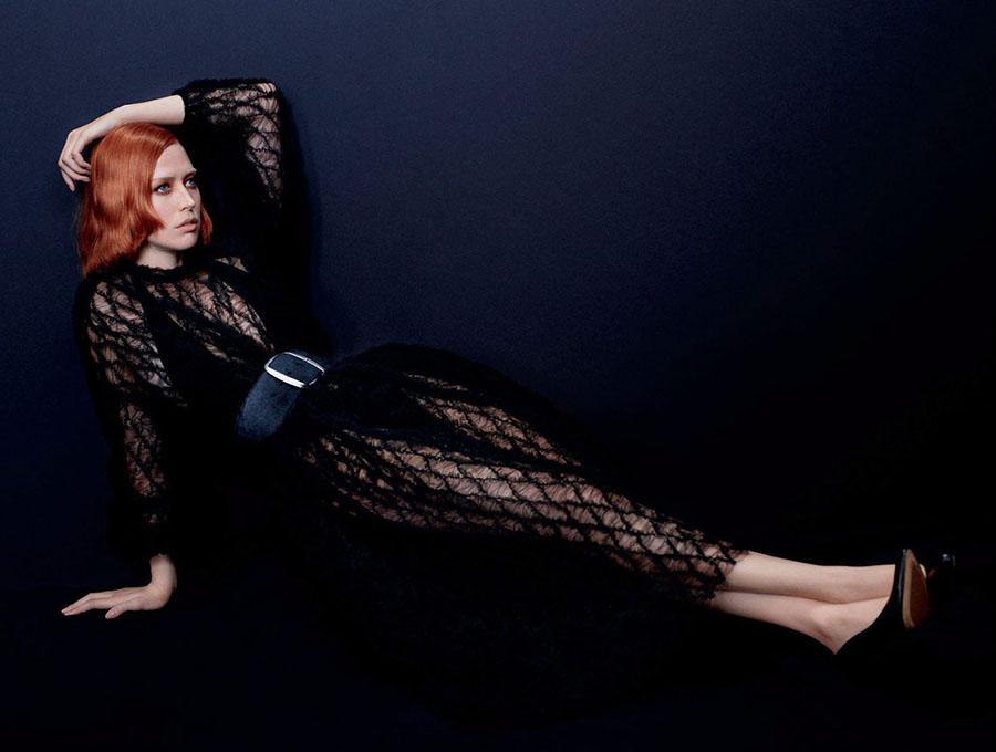 Raquel Zimmermann by Mikael Jansson for Vogue Paris September 2017