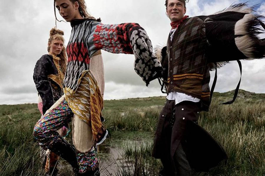 ''Run Wild'' by Mario Testino for Vogue British September 2017