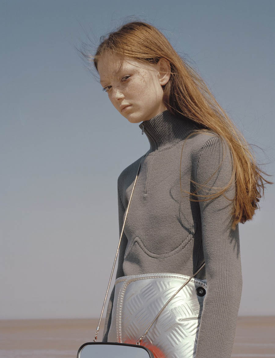 Sara Grace Wallerstedt by Letty Schmiterlow for i-D Magazine Fall 2017
