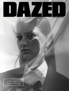 Sara Grace Wallerstedt covers Dazed & Confused Autumn 2017 by Jack Davison