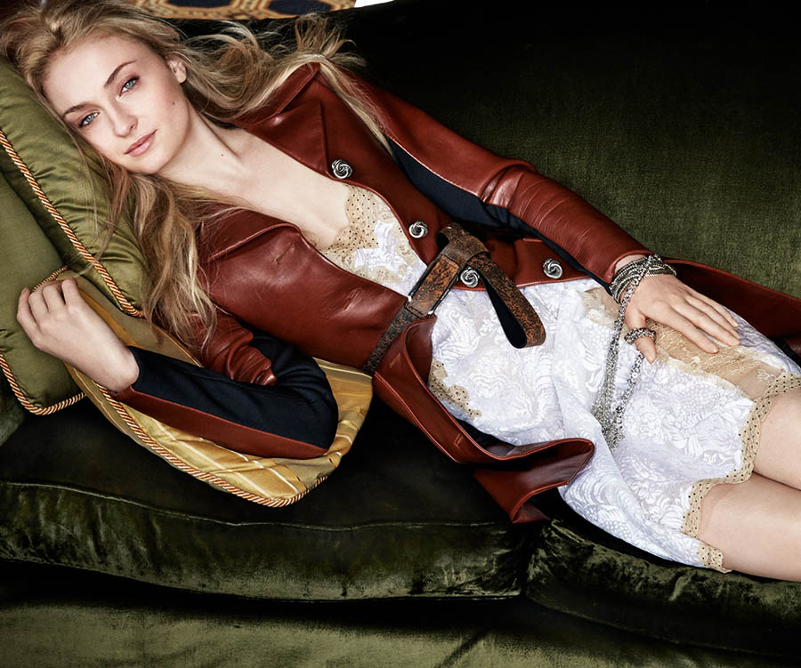 Sophie Turner covers Porter Magazine Fall 2017 by Patrick Demarchelier