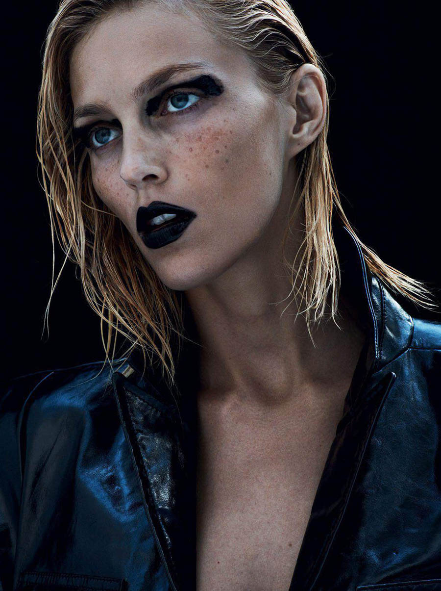 Anja Rubik by Ben Hassett for Vogue Paris September 2017