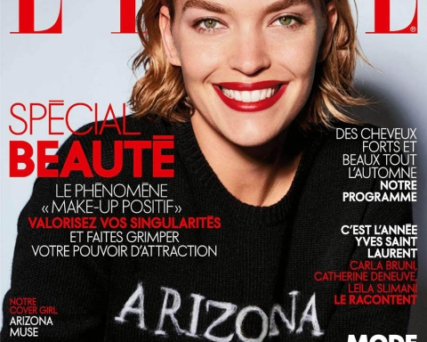 Arizona Muse covers Elle France September 2017 by Liz Collins