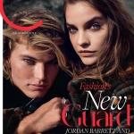 Barbara Palvin and Jordan Barrett cover C Magazine September 2017 by Beau Grealy