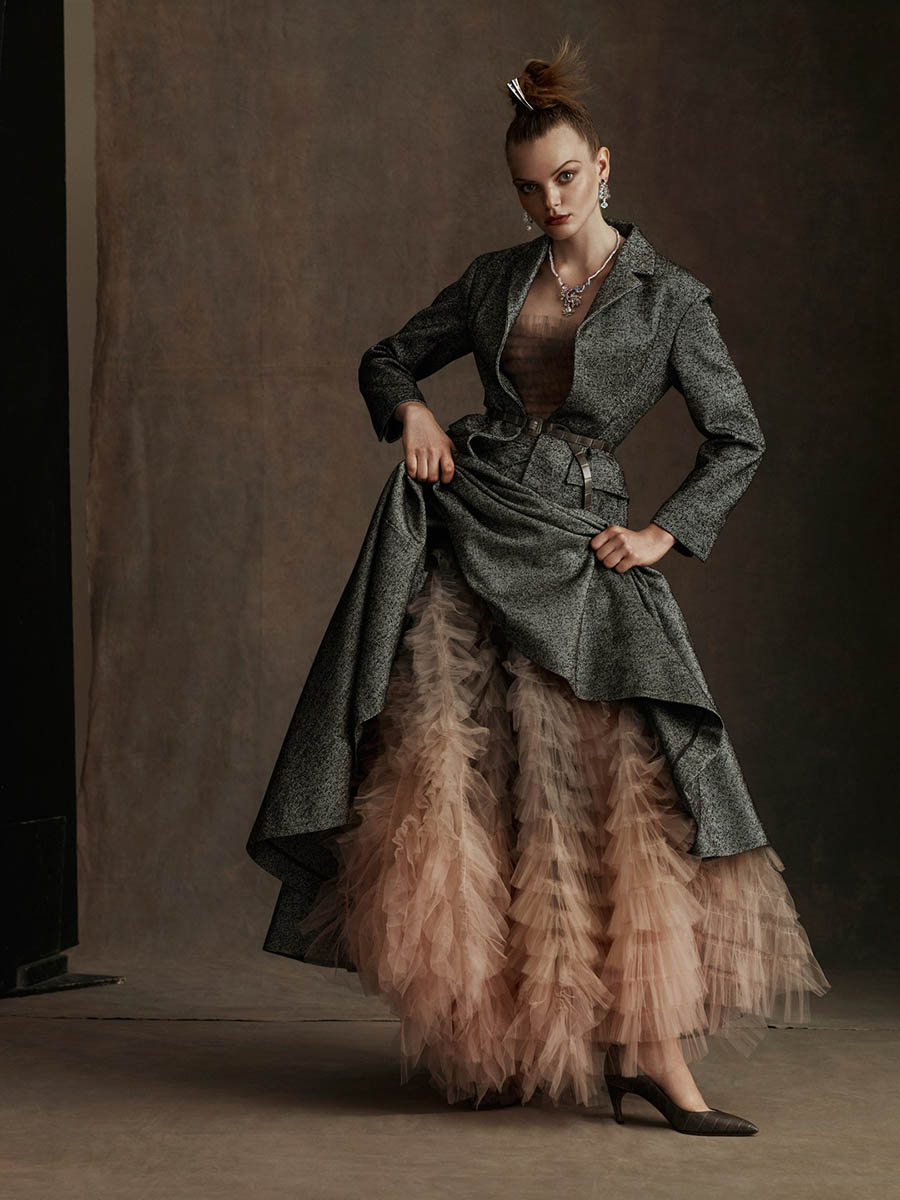 ''Couture'' by Kiki Xue for CR Fashion Book Fall 2017