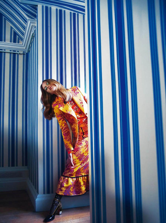 Esther Heesch by Erik Madigan Heck for Harper's Bazaar UK October 2017