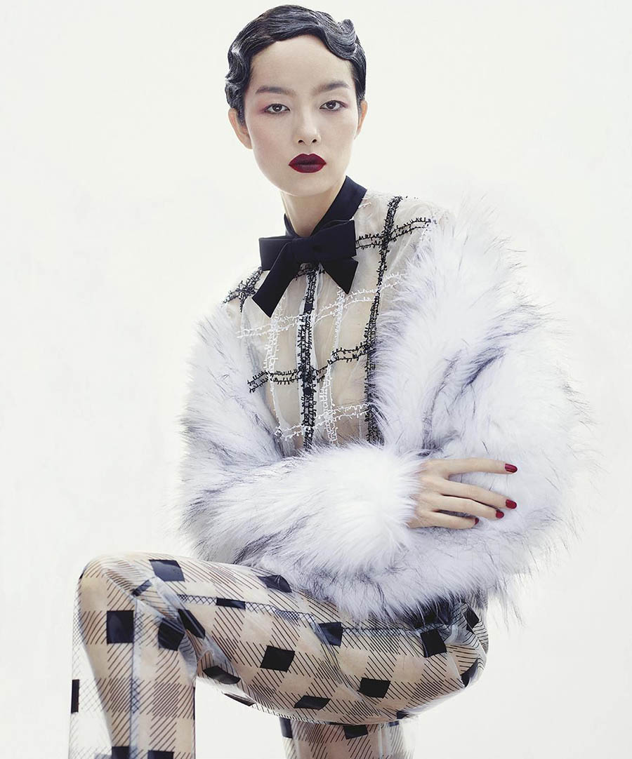 Fei Fei Sun by Robbie Fimmano for Vogue Australia October 2017