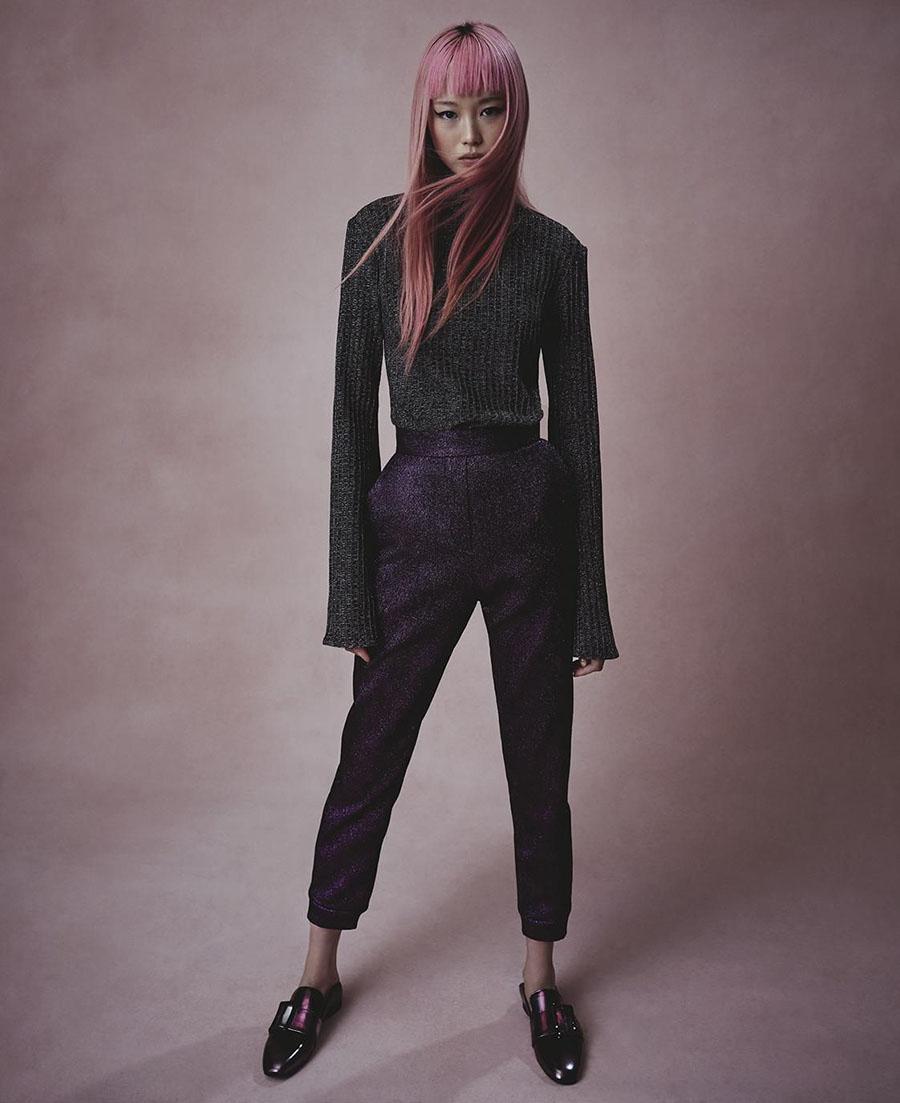 Fernanda Ly by Duncan Killick for Vogue Australia September 2017