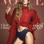Gigi Hadid covers Vogue Korea September 2017 by Henrique Gendre