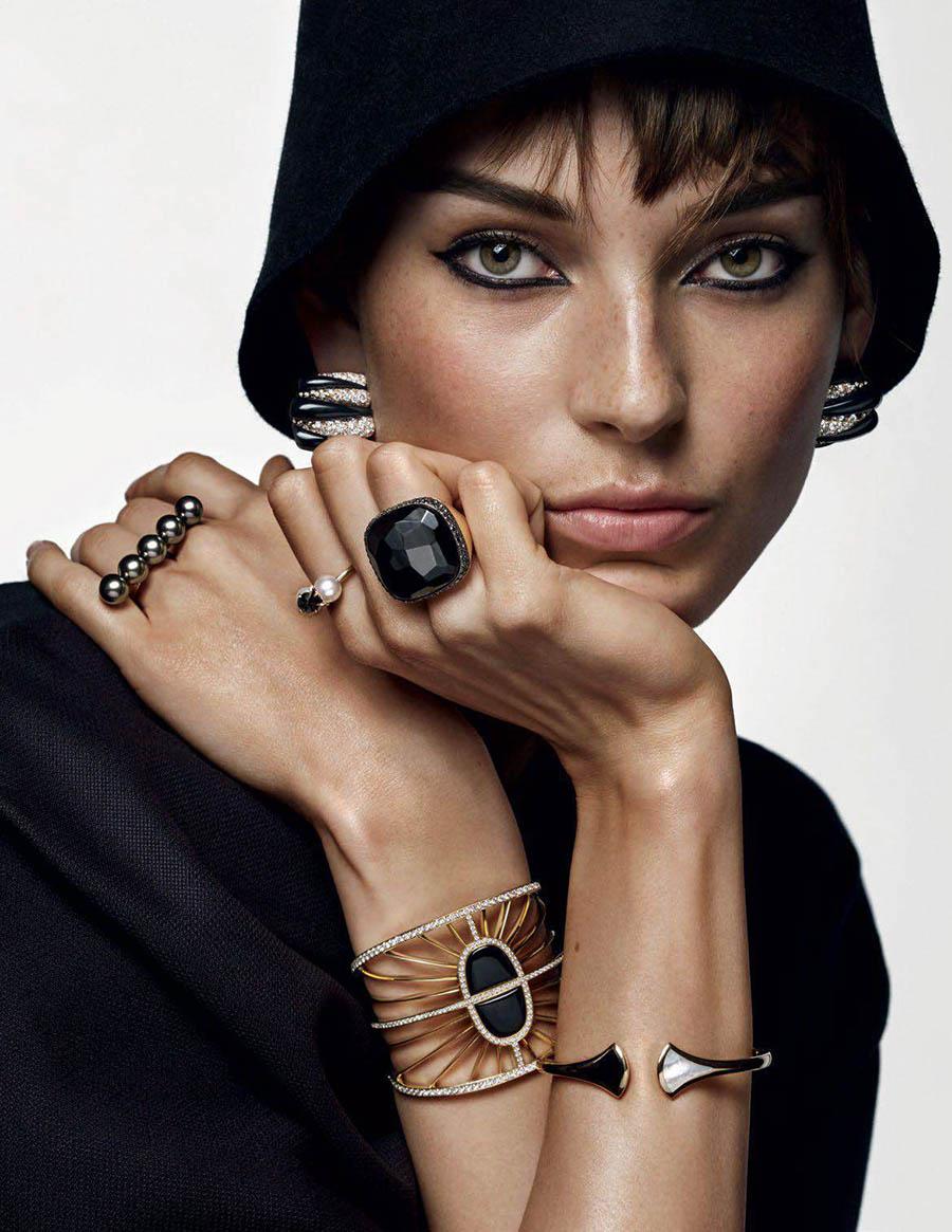 Julia Bergshoeff by Alique for Vogue Paris September 2017