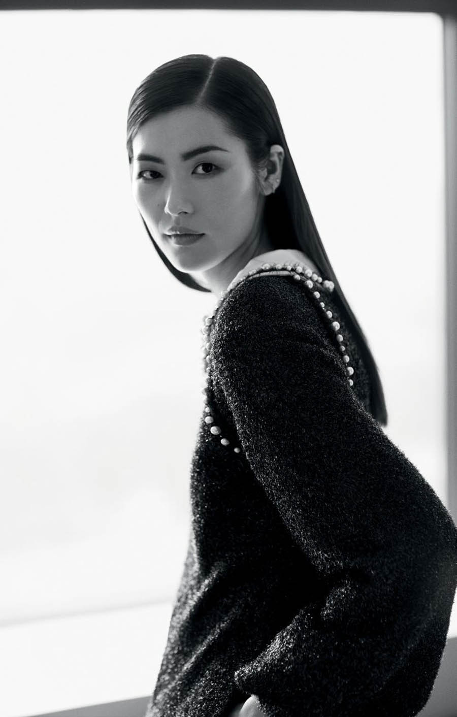 Liu Wen covers T Magazine Singapore September 2017 by Russell James