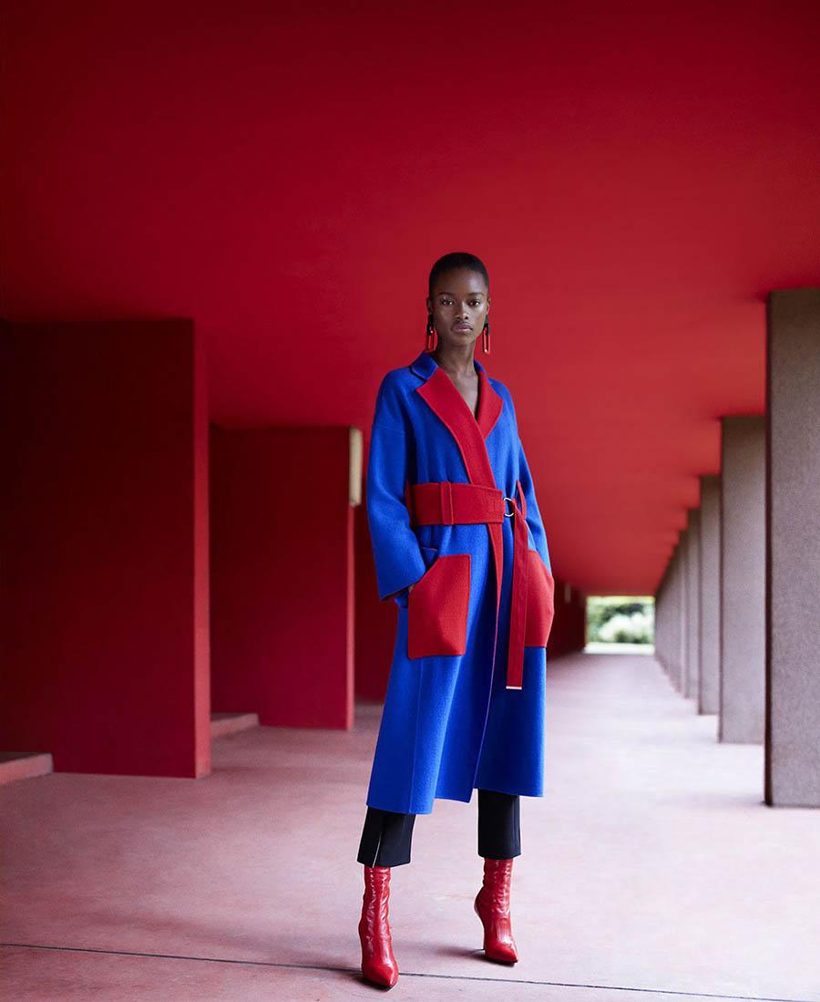Mayowa Nicholas by Daniel Riera for Harper's Bazaar US September 2017
