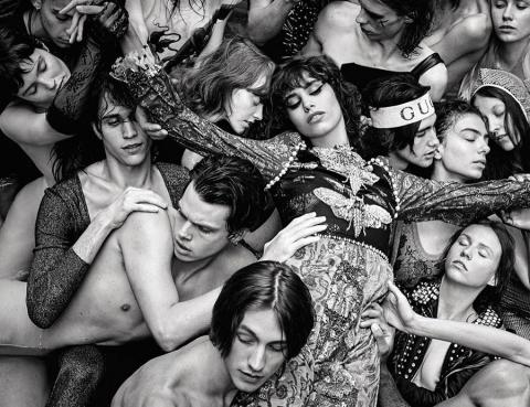 Mica Argañaraz by Luigi & Iango for Vogue Italia September 2017