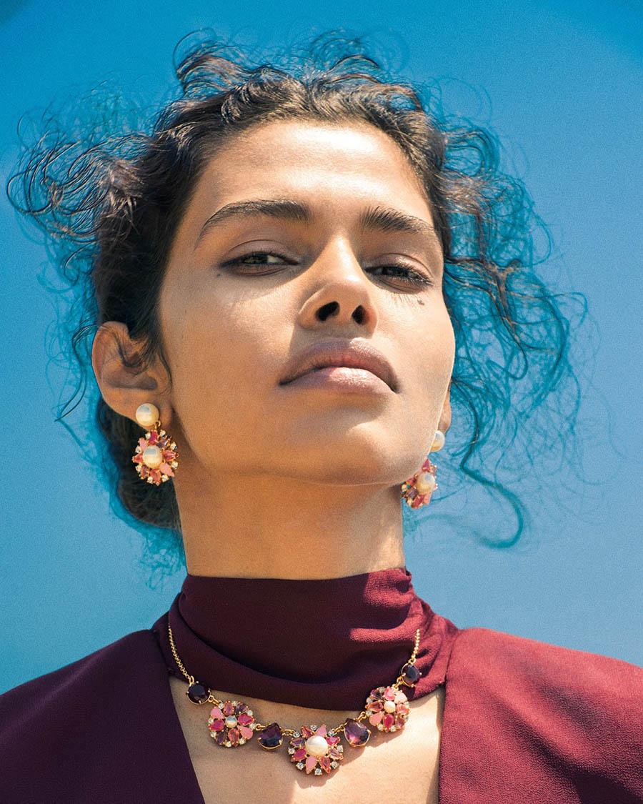 Pooja Mor by Elizaveta Porodina for Bloomingdales Catalogue September 2017