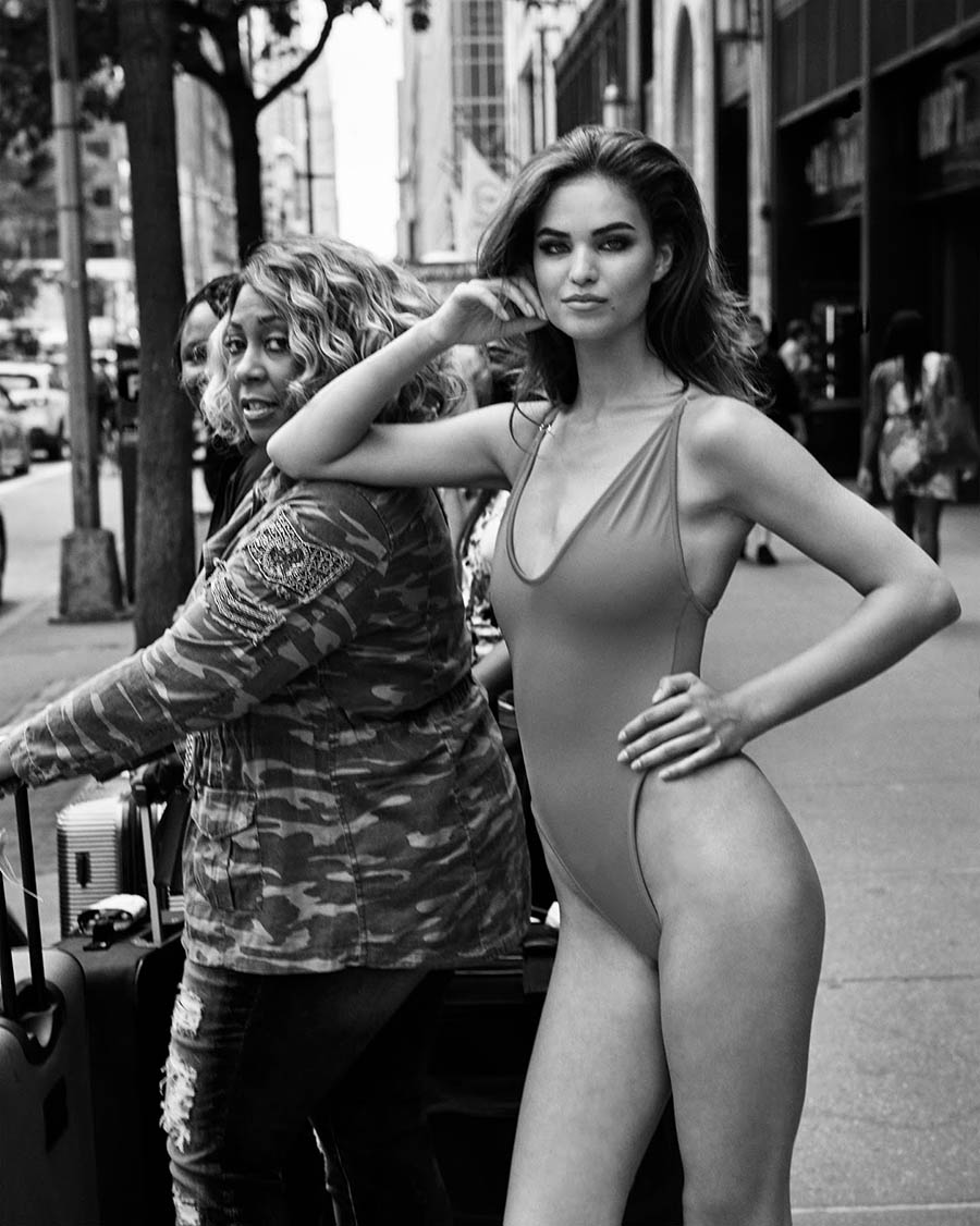 Robin Holzken by Sloan Laurits for CR Fashion Book Fall 2017