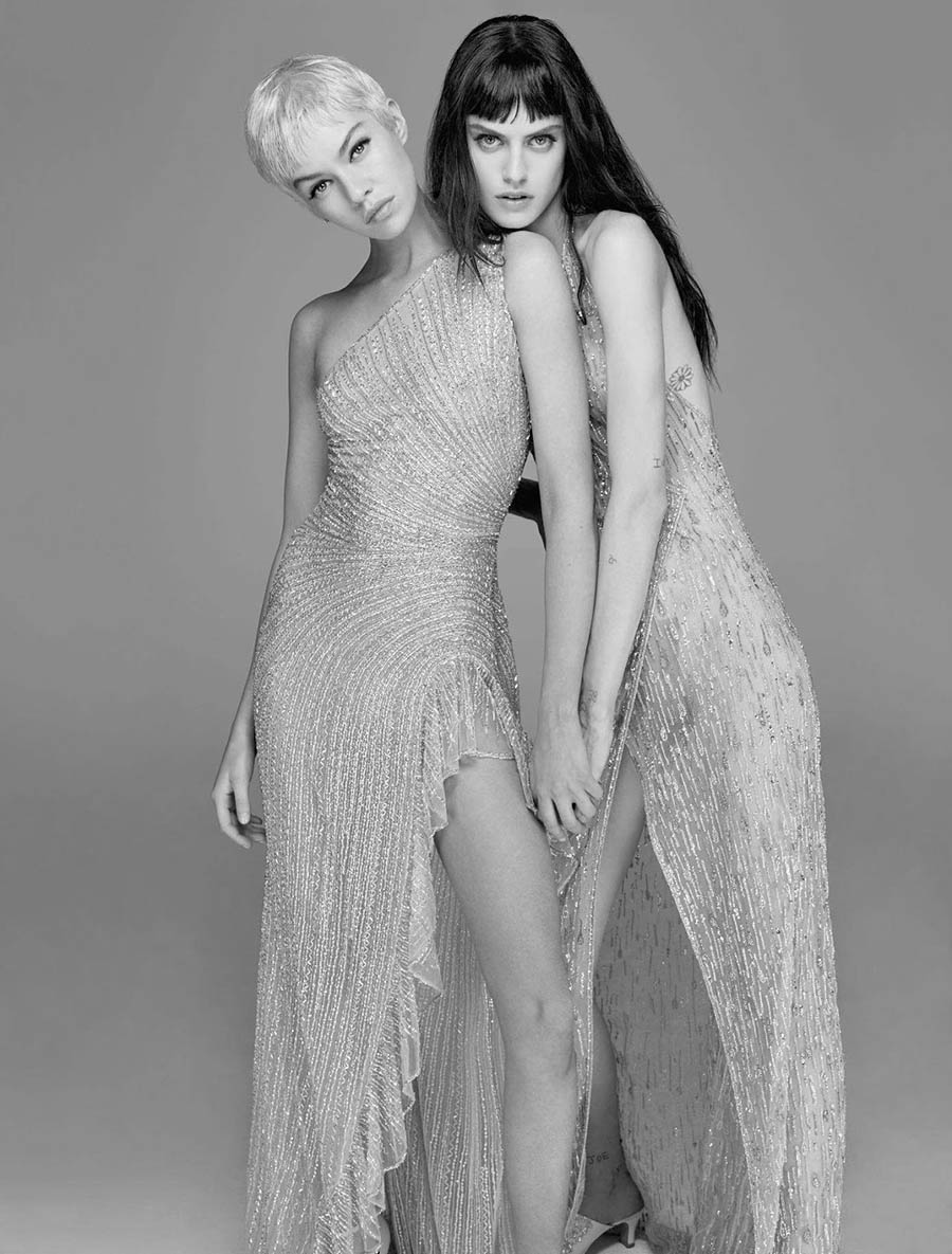 Sarah Brannon and Stella Maxwell cover Numéro September 2017 by Anthony Maule
