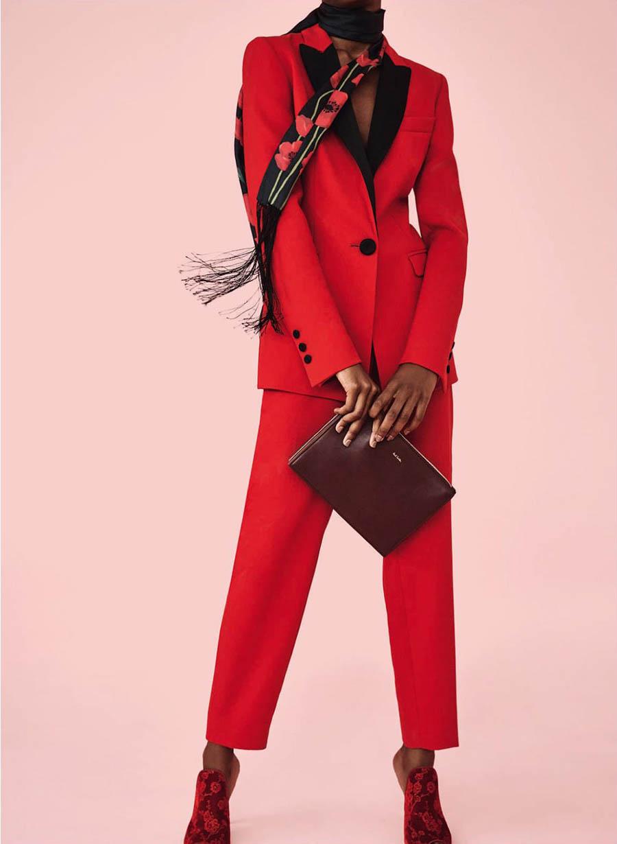 Alana Henry by Anya Holdstock for Harper's Bazaar UK October 2017