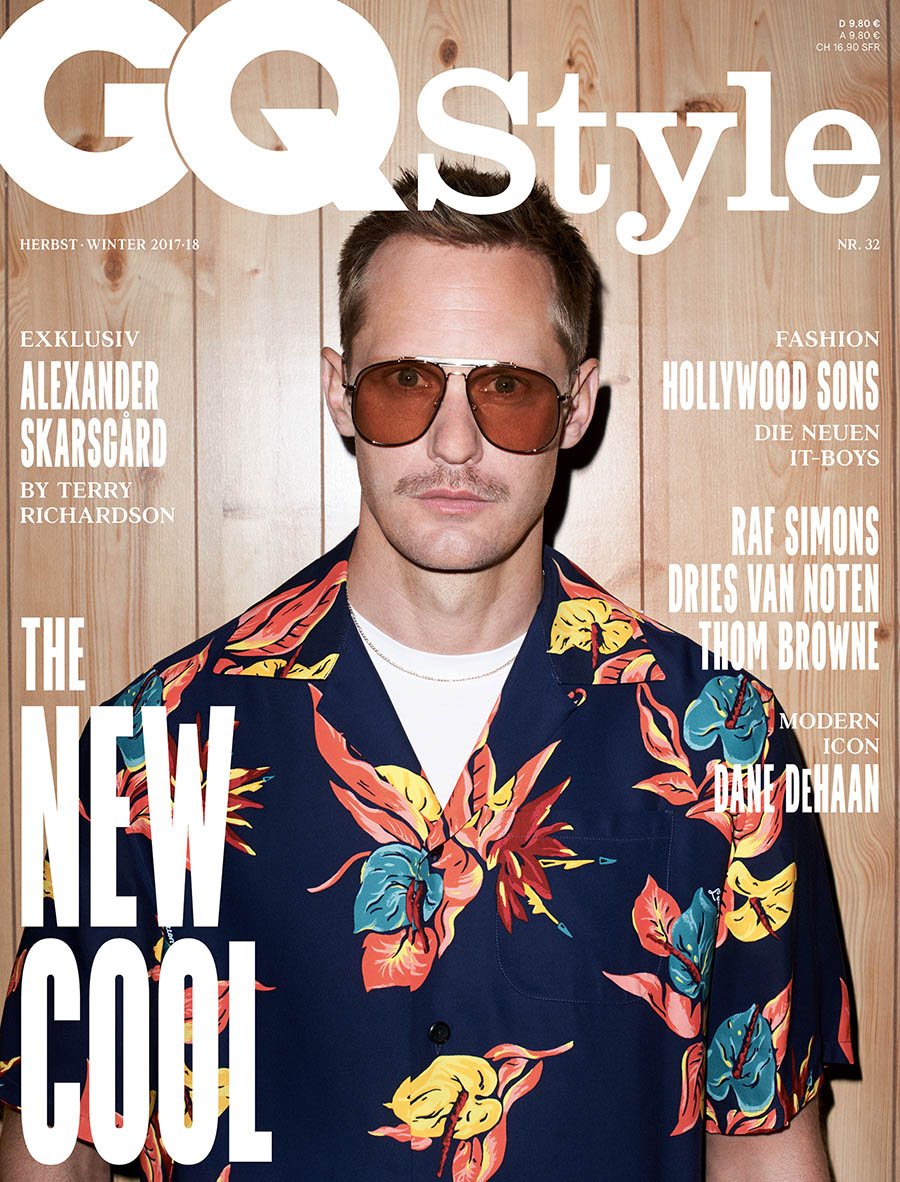 Alexander Skarsgård covers GQ Style Germany Fall/Winter 2017 by Terry Richardson