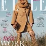 Aline Weber covers Elle Serbia October 2017 by Greg Swales