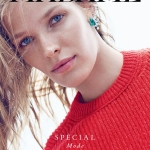 Alisa Ahmann covers Air France Madame October 2017 by Gianluca Fontana