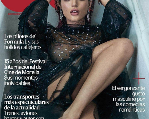 Bella Thorne covers GQ Mexico October 2017 by Michael Schwartz