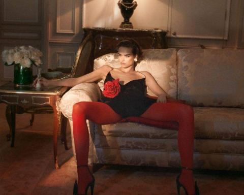 Birgit Kos by David Sims for Vogue Paris October 2017
