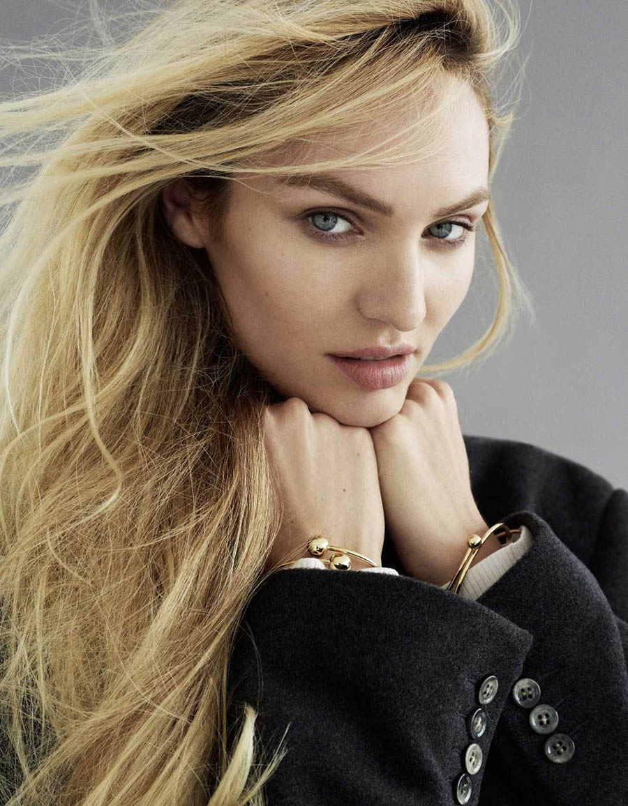 Candice Swanepoel covers Elle Russia October 2017 by Philip Gay