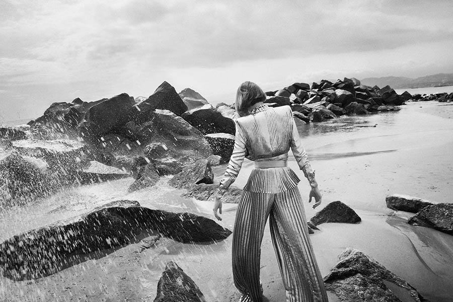 Cara Taylor by Glen Luchford for Vogue Paris October 2017