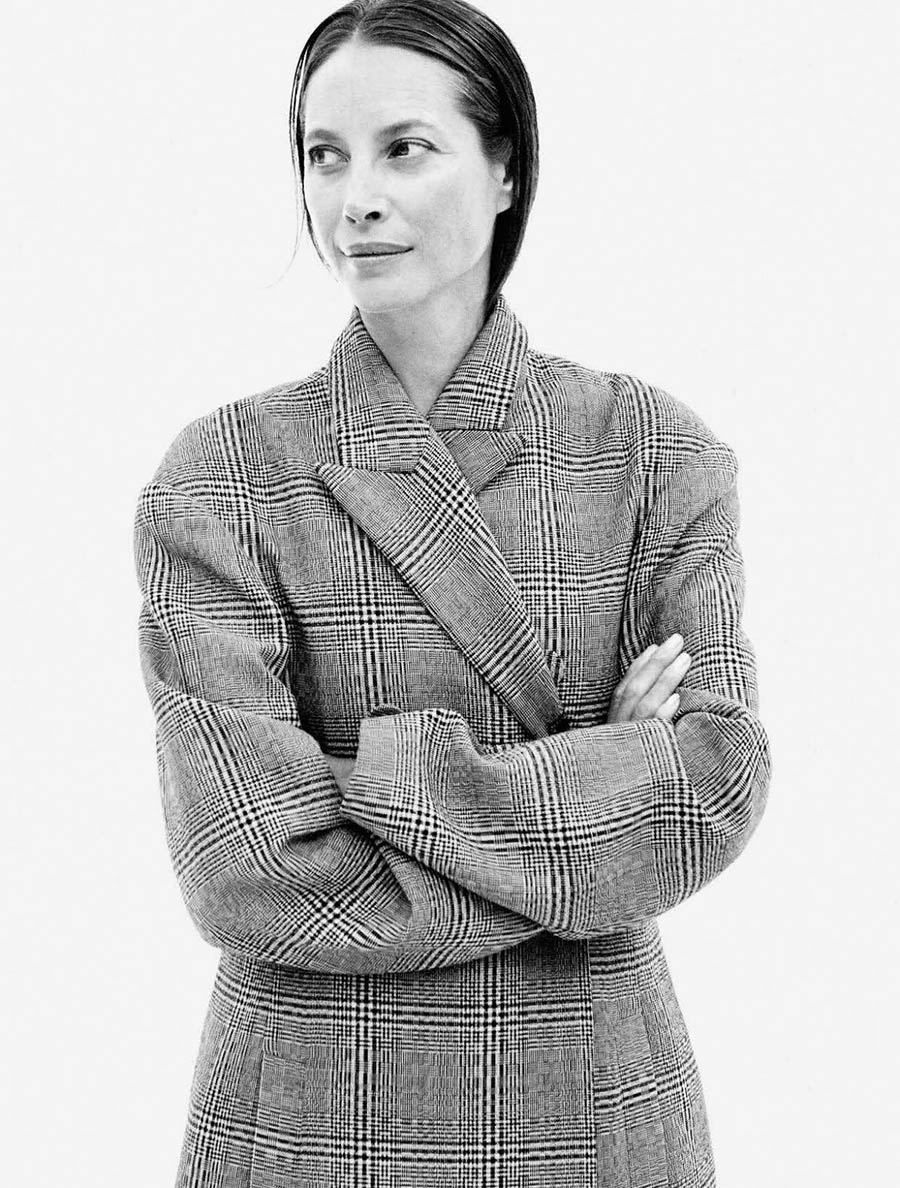 Christy Turlington covers Vogue Germany October 2017 by Daniel Jackson