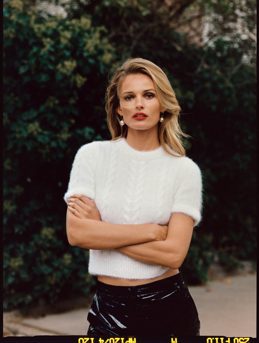Edita Vilkeviciute covers The Edit October 26th, 2017 by Quentin De Briey
