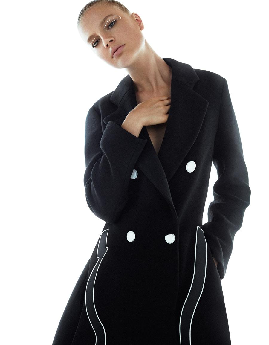 Elisabeth Erm by Xavi Gordo for Grazia Italia October 2017