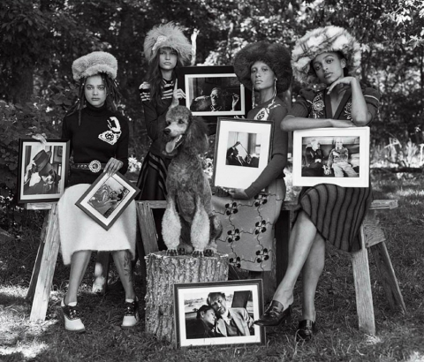 ''Head Turners'' by Bruce Weber for Vogue US October 2017