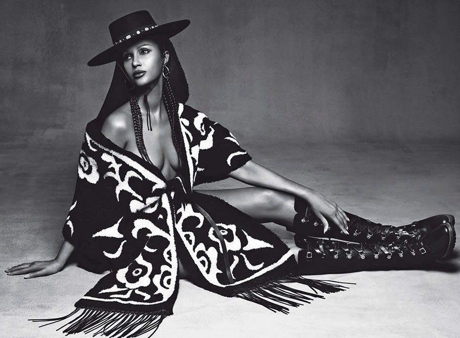 Iman by Luigi & Iango for Vogue Italia October 2017