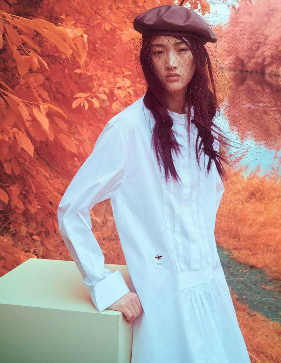 Jing Wen by Sølve Sundsbø for Vogue China October 2017
