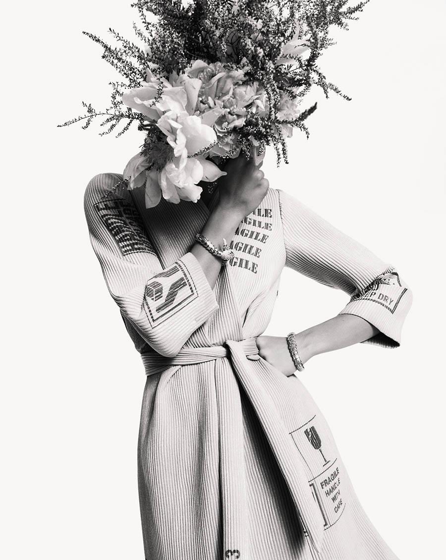Julia van Os by Greg Kadel for Numéro October 2017