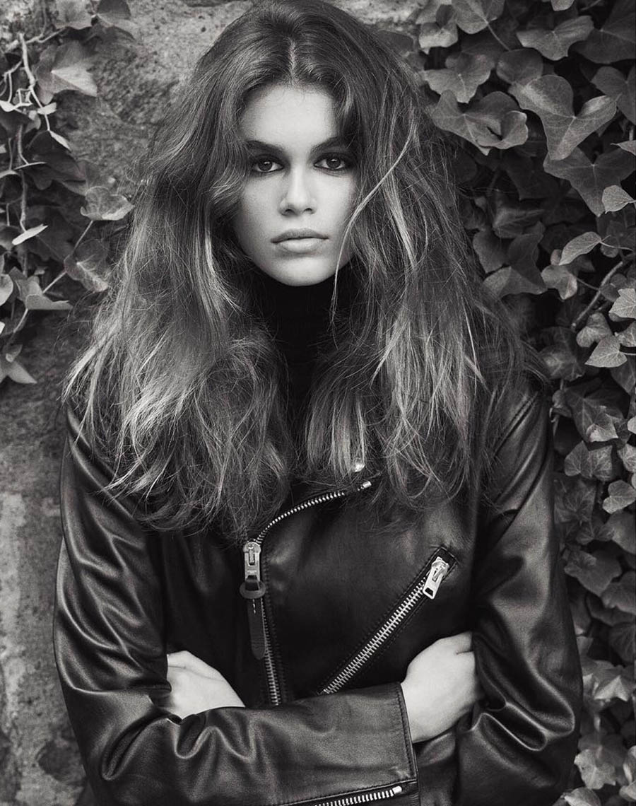 Kaia Gerber by Lachlan Bailey for British Vogue October 2017