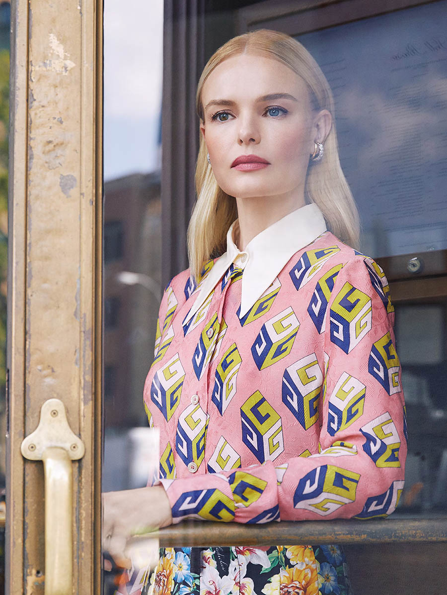 Kate Bosworth covers Harper's Bazaar Taiwan October 2017 by Harper Smith